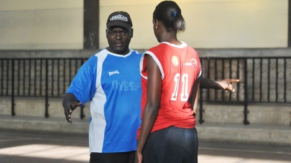 Coach Ronnie and captain Silalei