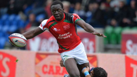Odhiambo joint top try scorer at London Sevens