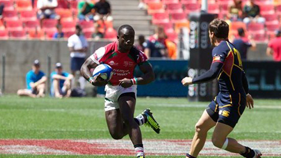 Kenya qualifies for quarters at the Nelson Mandela 7's