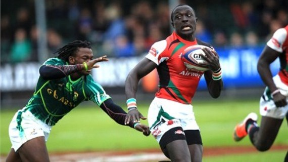 Kenya fall to South Africa in final group  B match