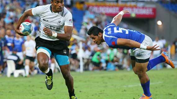 Fiji wins at the Gold Coast to take an early lead