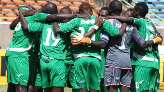 Gor to fly to Kisumu for FKF Shield encounter