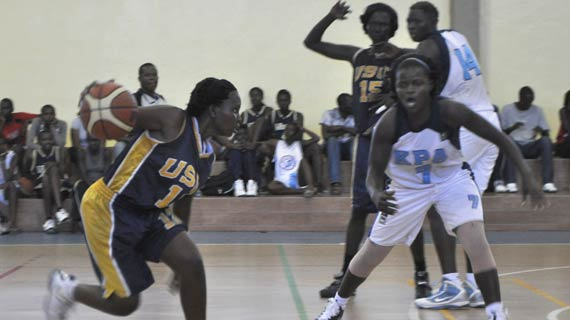 KPA vs USIU Flames at the Makande Hall in Mombasa