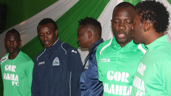 Gor Mahia launch new kit ahead of derby