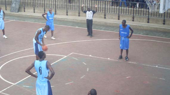 KCA-U vs KU Pirates in past Div One match