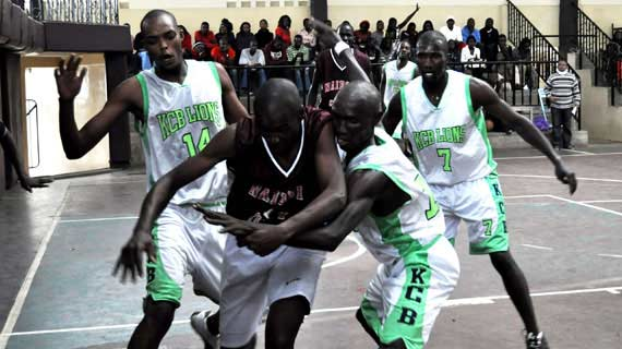 KCB Lions in a previous KBF league match against Thunder