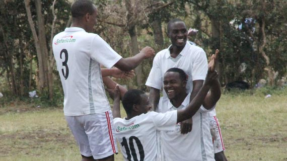 Naivas stun Media soccer team