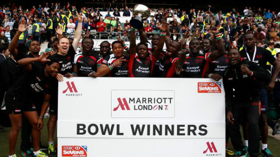 Kenya beat Argentina to lift bowl title in London