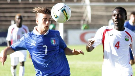 Italian junior side holds Kenya in thrilling encounter