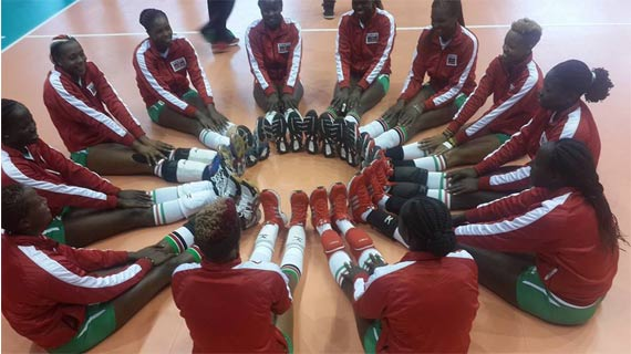 Kenya volleyball team lands in Croatia