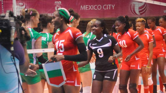 Hard fighting Kenya queens narrowly lose to Bulgaria