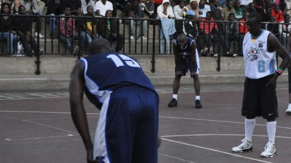 Ligare in a past match against Ulinzi