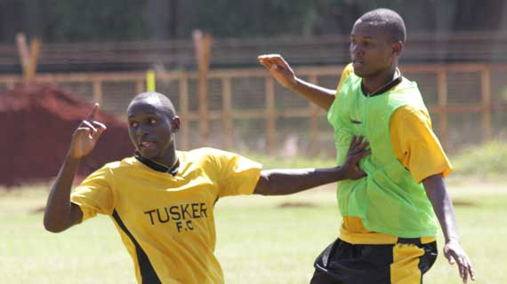 Tusker's Wahome, KCB Omondi suspended