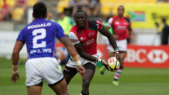 Kenya collect five points in Glasgow