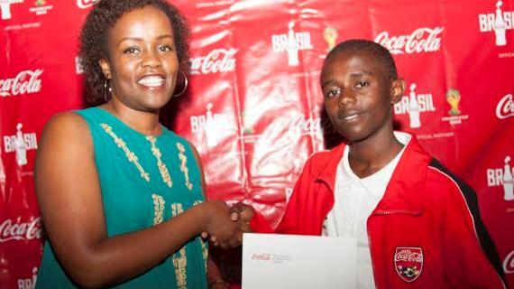 Young Kenyan star wins trip to watch World Cup in Brazil