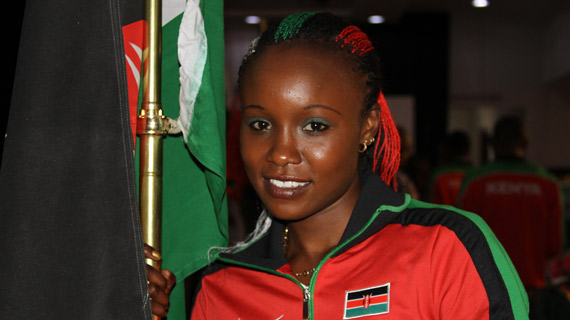 Dibaba sparkles as Cherono is outshined