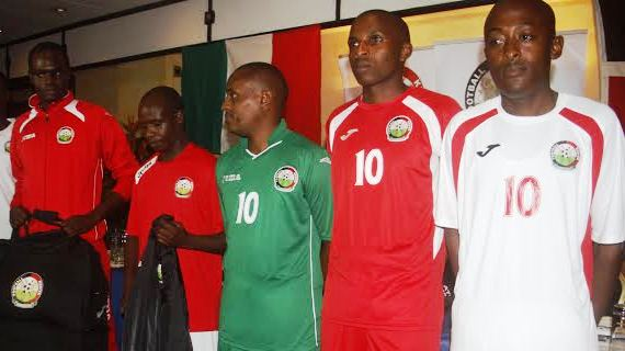 Harambee Stars land two year Joma kit deal