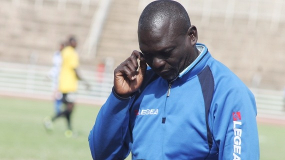 AFC Leopards Coach Tom Olaba