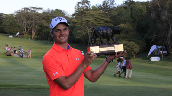 Porteous wins Kenya Open in sudden death playoff