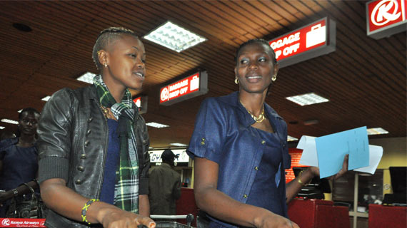 Kenya team depart for Mexico Grand Prix