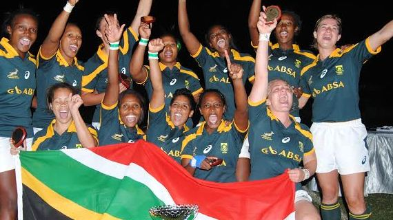South Africa successfully defend C.A.R Women's Sevens title