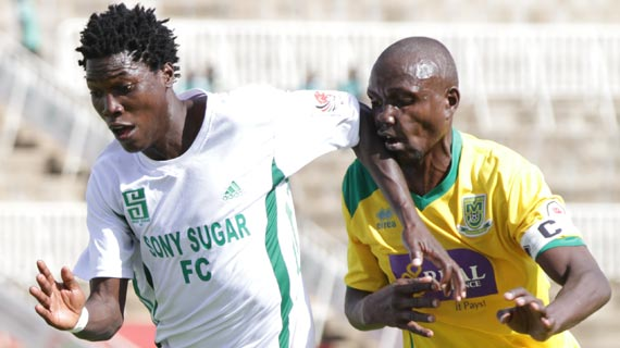 Sofapaka, Sony with an early KPL lead