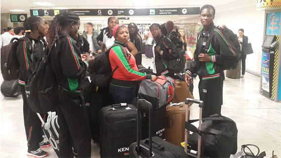 Volleyball team safely lands in Mexico for Grand Prix