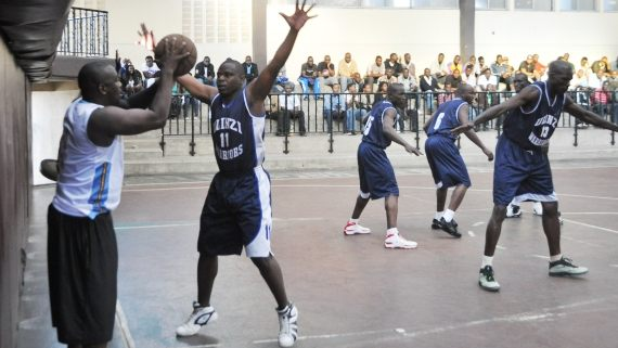 Thunder's Dan Okwiri against Ulinzi