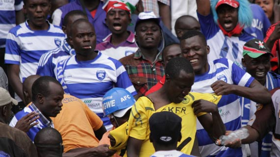 Tusker to compensate roughed up fan