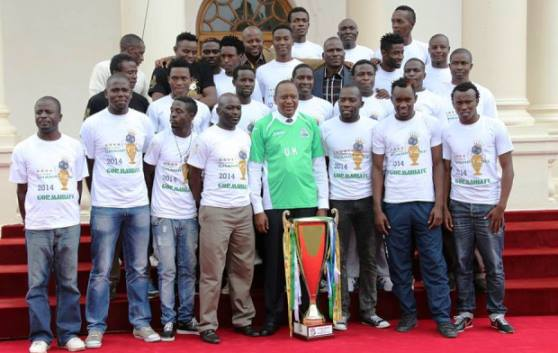 Uhuru hosts Gor to luncheon at State House
