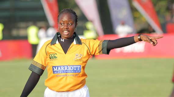Kenyan match officials depart for S.A training course
