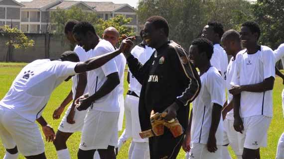 Stars report to camp ahead of Zambia challenge