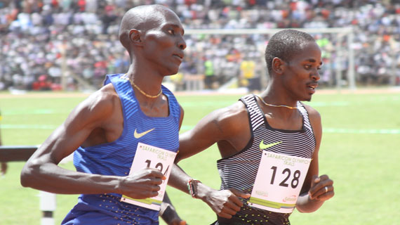 Kenyan athletics team set for London