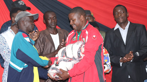 KPL donates balls towards Magharibi Sports development