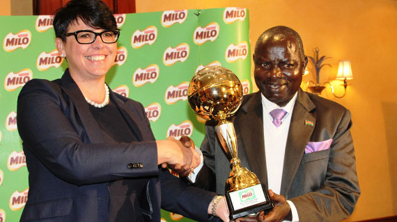 National primary school games land MILO boost