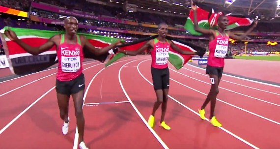 Kipkemboi, Manangoi through to 1500m World U18 Final