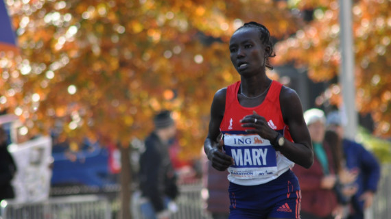 Kamworor wins New York Marathon as Flanagan stuns Keitany