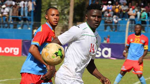 Olunga with a double as Harambee Stars beat DR Congo in friendly