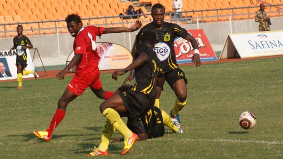 Simba, Vita Club play to one-all draw