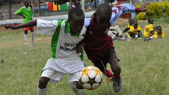 Walkers and Makadara in Nairobi Youth Cup Finals
