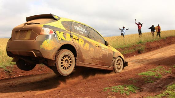 Kabras Racing team for Classic rally