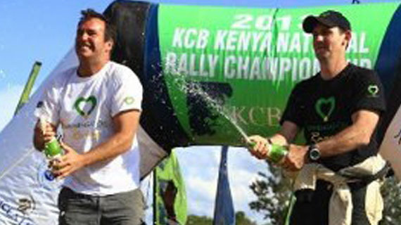 Tundo wins Nyeri rally
