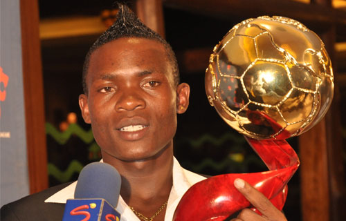 George Odhiambo named 2010 KPL footballer of the year
