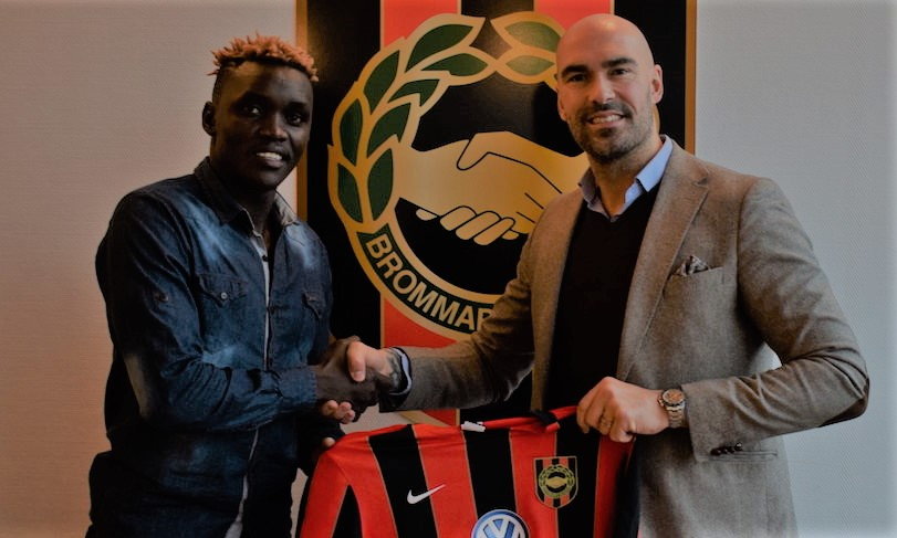 "Eric ""Cheche"" Ochieng joins Swedish top division side"