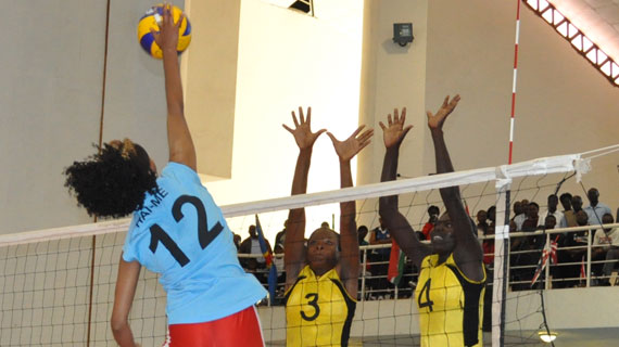 Kenya national women's volleyball team is named