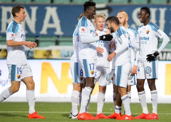 Micheal Olunga ends season with a brace and assists for Djurgarden