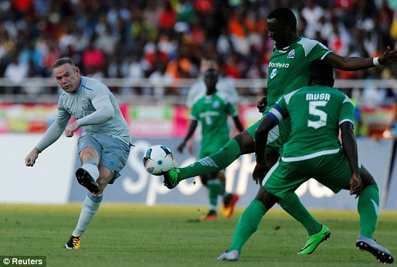 Gor Mahia lose narrowly to EPL side Everton