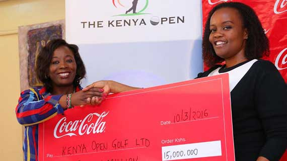 Kenya Open Golf Tournament : 15 Million reasons to smile