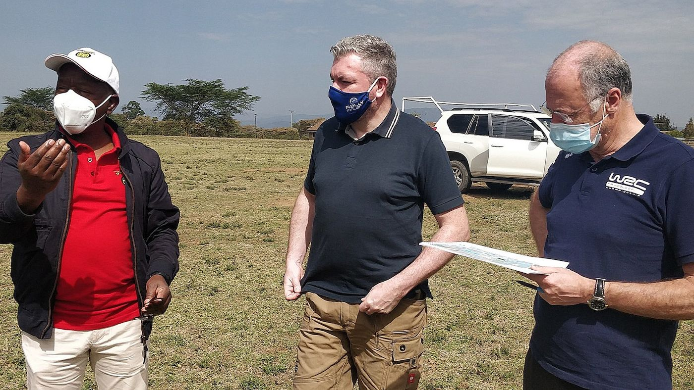 Safari dress rehearsal puts Equator Rally in spotlight