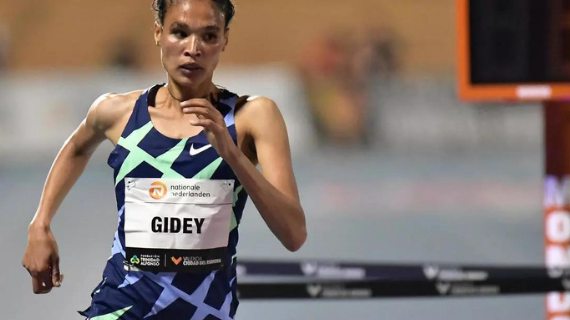 Gidey breaks Hassan's 10000m world record